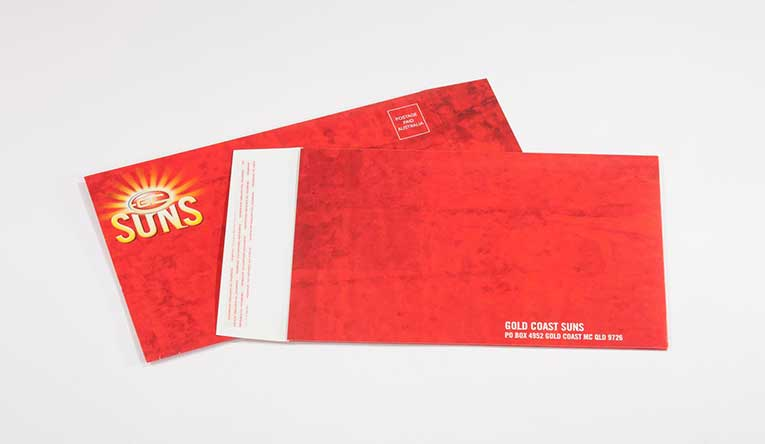 Suns Direct Mail kit